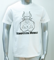 Gym T-Shirt Minotaur Muscle