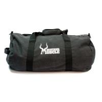 Vintage Canvas Barrel Bag schwarz